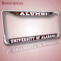 of alabama alumni car tag bamawear car boat