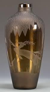 Orrefors Vase Lot 457 Orrefors And Verart Glass Vases