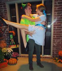 unique couples halloween costume ideas peter pan u0026 wendy darling halloween couple costume ig