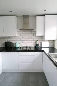 kitchen red backsplash kitchen island light grey kitchen floor