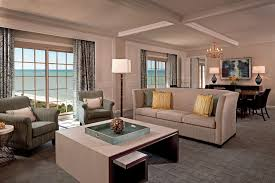 Livingroom Club Club Three Bedroom Royal Suite The Ritz Carlton Naples
