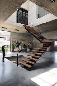 Inside Home Stairs Design Inside This Home Really Opens Up With A Double Height Ceiling