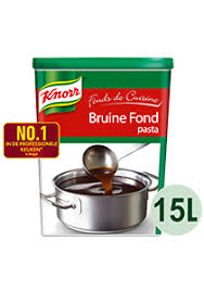 les fonds de cuisine knorr fonds de cuisine fond brun unilever food solutions