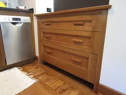 mission style oak kitchen cabinets crafted mission style kitchen cabinet by j kritzer