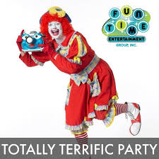 clown show for birthday party kids shows dfwkidsparties