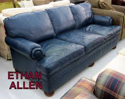 ethan allen sofa bed ethan allen leather sofa 11808 86 299 99 wow that s a great price