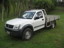 2004 holden rodeo cab chassis ra lx 4x4 5 spd petrol australian