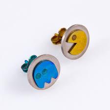 pacman earrings 55 pacman earrings pacman earrings ebay lamevallar net