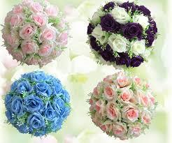 flower balls 6 8 17cm wedding balls silk flower balls decorative