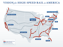Trains In America High Speed Trains Hsts