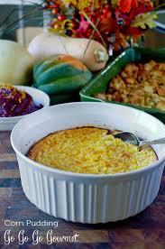 corn pudding go go go gourmet