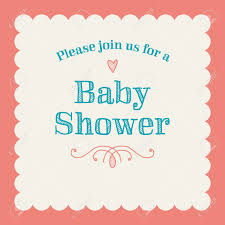 Invitation Card Picture Baby Shower Invitation Card Editable With Type Font Ornaments