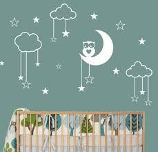 stickers étoile chambre bébé sticker enfant mural stickers toile bleu stickers etoile chambre