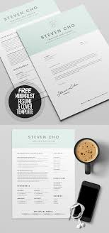Free Resume Cover Letter Template 23 Free Creative Resume Templates With Cover Letter Freebies