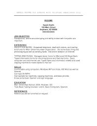 Resume Templates Spanish Job Cv Sample Coinfetti Co