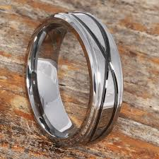 symbol of ring in wedding krypton carved infinity symbol tungsten promise ring for