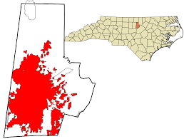 North Carolina State Map by Durham North Carolina Wikipedia