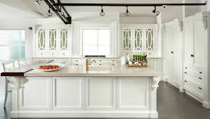 Classic White Kitchen Cabinets Plain White Kitchens 2015 With Glass Dining Table Intended