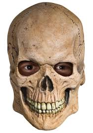 latex skull mask scary halloween masks for adults