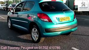 peugeot 2012 for sale 2012 peugeot 207 sportium 1 4l oasis blue metallicex12ffd for sale