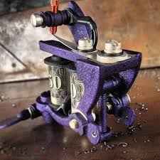 hand made tattoo machine by mike adams artwork with utility