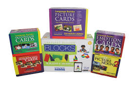 language builder complete autism photo card set stages learning