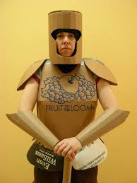 trojan halloween costume cardboard armor 8 steps with pictures