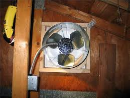 installing a gable vent fan installing an attic fan ehow