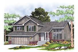 multi level homes eplans split level house plan multi level home 1732 square