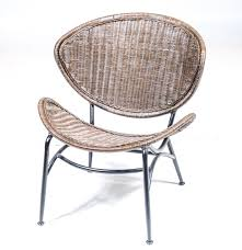 Wicker Chair Mid Century Modern Rattan Wicker Chair Ebth