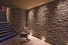 steinwand wohnzimmer fliesen deko steinwand modern home design ideen homedesign