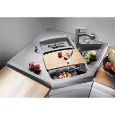 Overmount Kitchen Sinks Blanco Modus M 90 Silgranit Puradur Ii 615x900mm Right Only