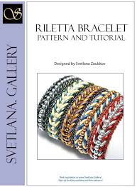 bracelet pattern tutorials images Riletta bracelet pattern tutorial for crescent beads jpg