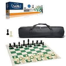 amazon com we games complete tournament chess set u2013 plastic chess