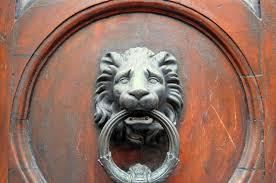lion door knocker decorative door knockers of florence italy