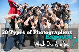 Types Of Photography 30 Types Of Photographers Exposed Which One Are You Photodoto