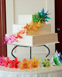 Origami Wedding Cake - origami wedding cake with cranes wedding diy