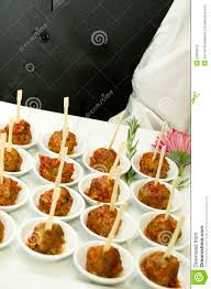 cocktail party food meat stock photo image 23809610