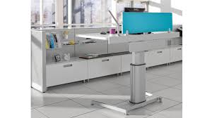 steelcase sit stand desk airtouch electrical components desks and work surface