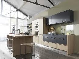 cuisine ouverte ilot central vert intérieur idées d de plus cuisine ouverte avec ilot table
