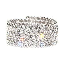 crystal wrap bracelet images Crystal wrap bracelet made with swarovski elements jpg