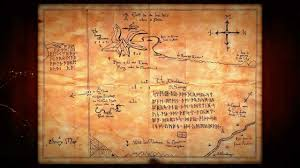 The Hobbit Map Thror U0027s Map The Hobbit Youtube