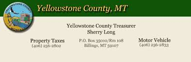Mobile County Property Tax Records Yellowstone County Montana