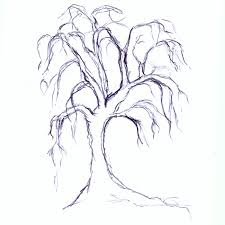 scary tree drawing info