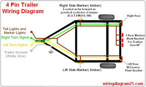 trailer wiring diagram way flat trailer wiring diagram wiring