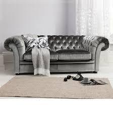 Velvet Sofa Bed Grey Velour Sofa Aecagra Org