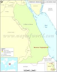 Map Location Where Is Berenice Troglodytica Location Of Berenice Troglodytica