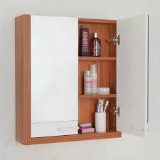 Bathroom Wall Medicine Cabinets Bathroom Cabinets Lillången Mirror Cabinet 1 Door 2 End Units