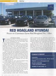 welcome to our dealership red hoagland hyundai