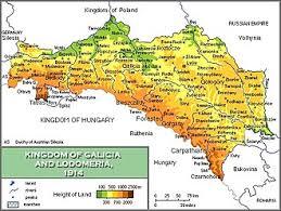 map europ galicia eastern europe